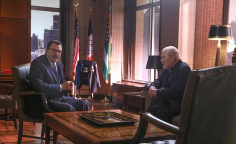 Arch Bishop Kern Visits Frank - Blue Bloods Season 8 Episode 6