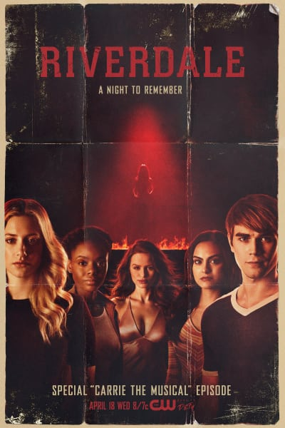 Carrie Musical Poster - Riverdale Season 2 Episode 18