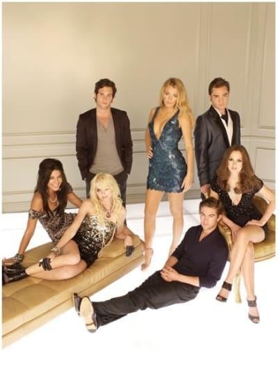 Gossip Girl Season 3 Cast Photo