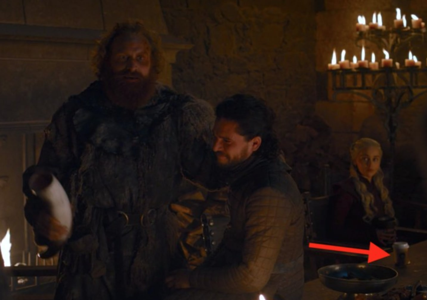 Game of Thrones Fans React to the Scene-Stealing Starbucks Cup - TV