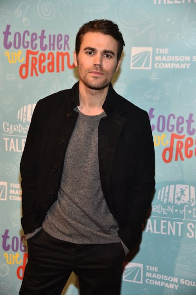 Paul Wesley Attends Garden of Dreams Charity Foundation