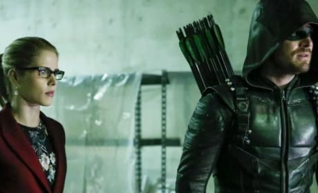 A Health Dose Of The Oliver/Felicity Romance - Arrow