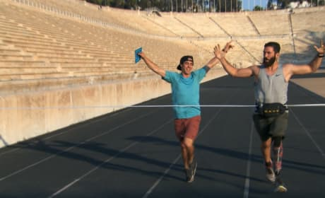 Racing Through Athens - The Amazing Race