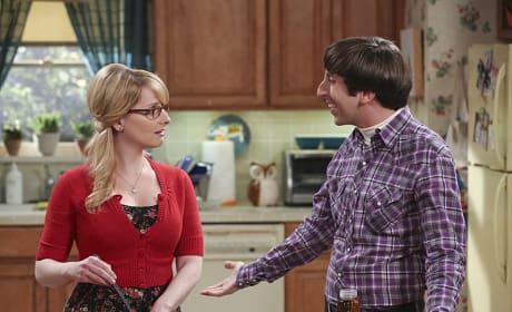 Bernadette and Howard  - The Big Bang Theory Season 9 Episode 2
