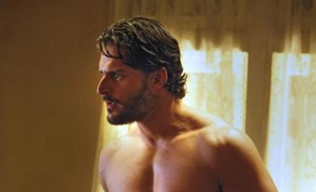 Shirtless Alcide