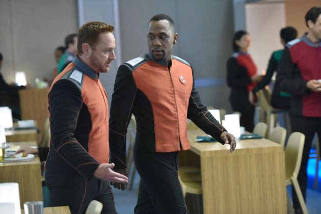 After You, Friend - The Orville Season 2 Episode 2
