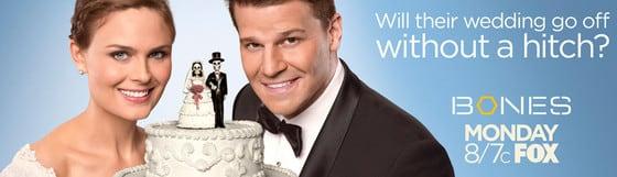 Bones Wedding Poster
