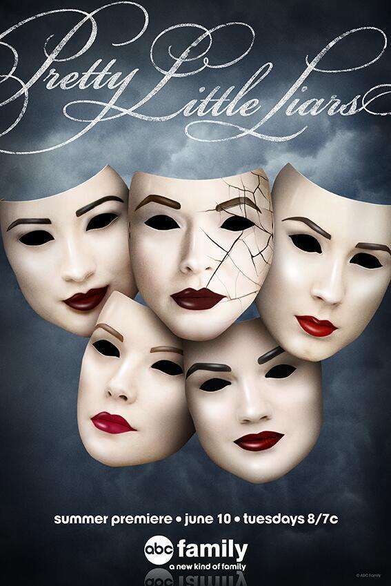 Pretty Little Liars Season Five Poster