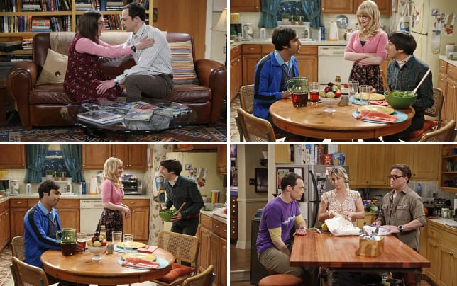 Amy and sheldon have a moment the big bang theory s8e24