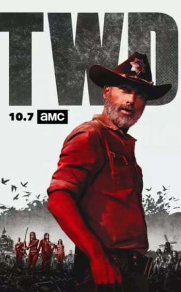 The Walking Dead Poster for Season 9