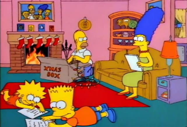 The Simpsons Christmas Episodes.25 Merry And Memorable Christmas Episodes Page 5 Tv Fanatic
