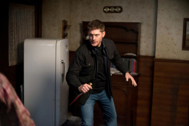 Dean with a Knife