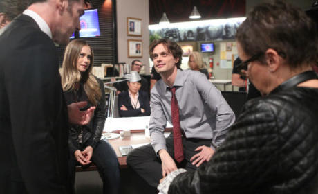 Matthew Gray Gubler as Director - Criminal Minds Season 10 Episode 21
