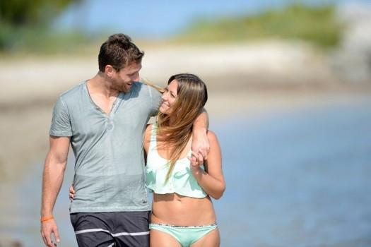 Juan Pablo and Renee in Miami