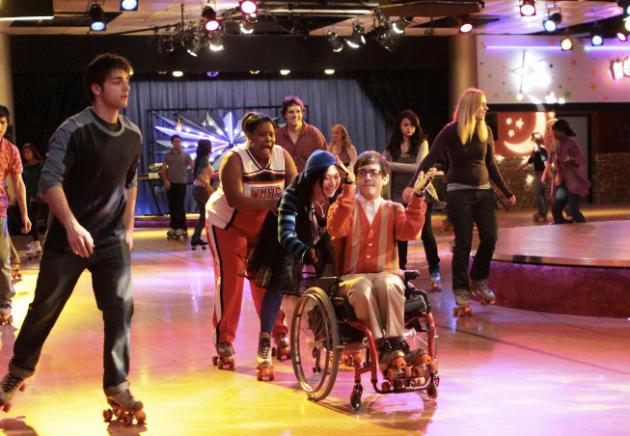 Roller Rink Rehearsal