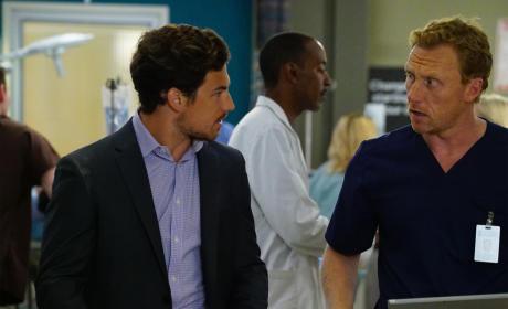 Giacomo Gianniotti on Grey's Anatomy Season 11 Episode 23