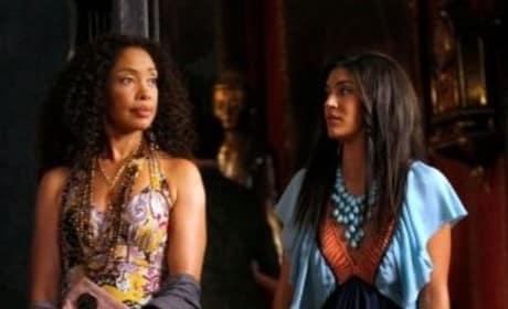 Vanessa and Mom
