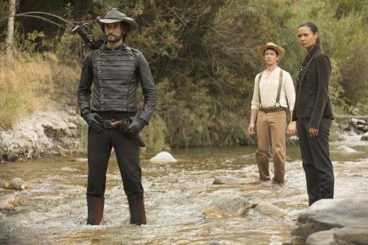 In Cold Water - Westworld Season 2 Episode 3