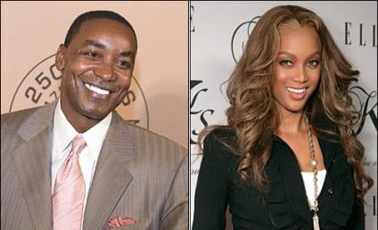 Banks Shot: Tyra Cozying Up With Knicks Coach Isiah Thomas?
