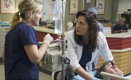 Arizona and Callie - Grey's Anatomy Season 11 Episode 24