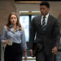 Keri Gets Briefed - Tall  - Pearson Season 1 Episode 4