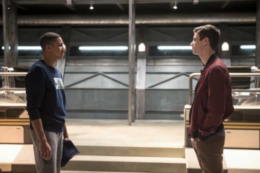 No, I'm faster! - The Flash Season 3 Episode 11