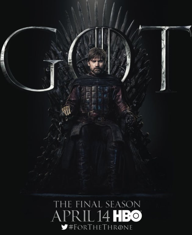 Jaime on the Iron Throne - Game of Thrones
