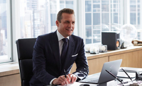 Harvey in His Office - Suits Season 4 Episode 10