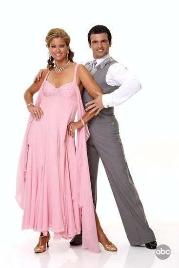 Tony Dovolani and Kathy Ireland