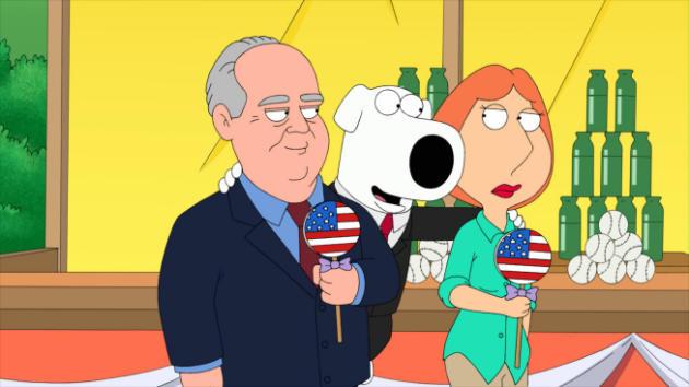 Rush Limbaugh on Family Guy