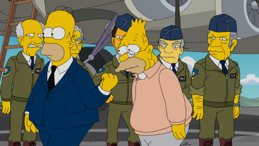 Air Force Days - The Simpsons