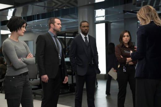 Team Meeting - Blindspot Season 2 Episode 11
