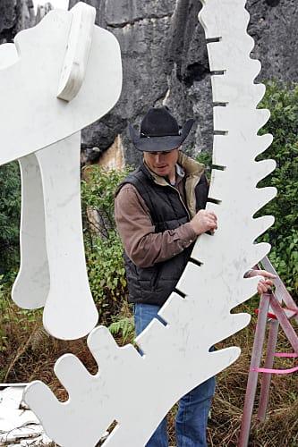Jet Maneuvers Dinosaur Parts