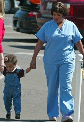 Chandra Wilson and Son!