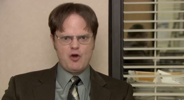 Angry Dwight