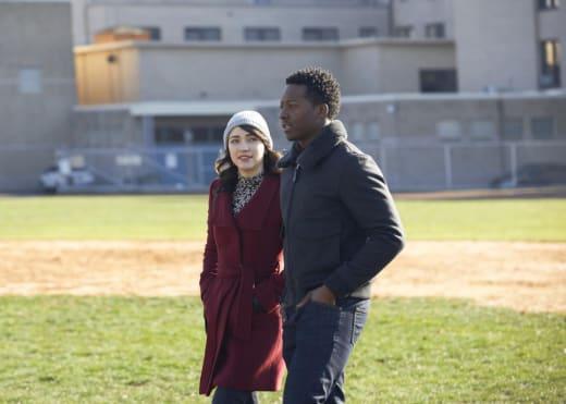 Baseball Field - God Friended Me Season 1 Episode 14