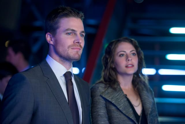 Oliver and Thea Queen