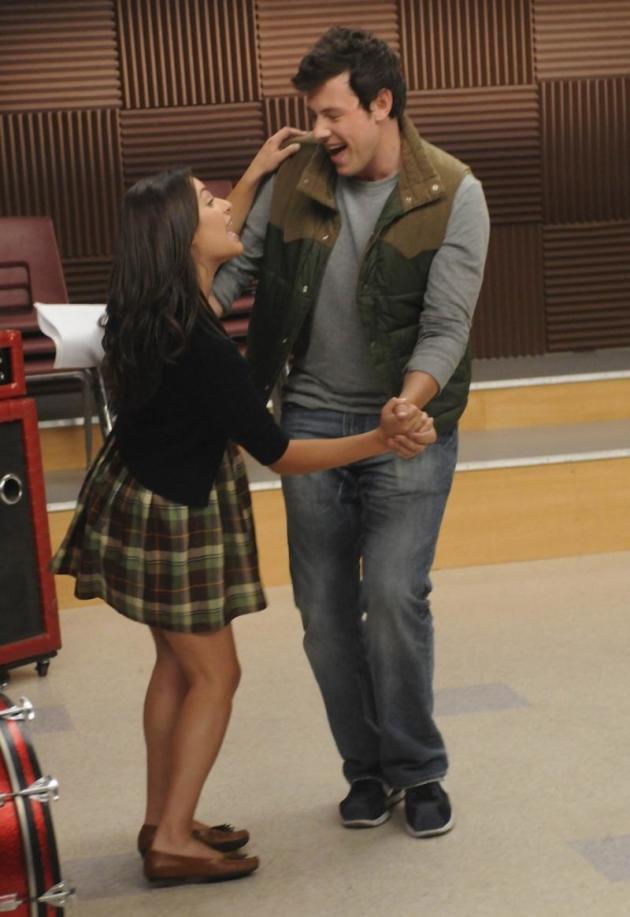 Rachel and Finn Photo