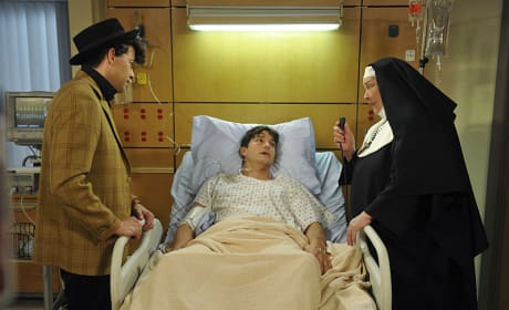 A Health Scare - Two and a Half Men