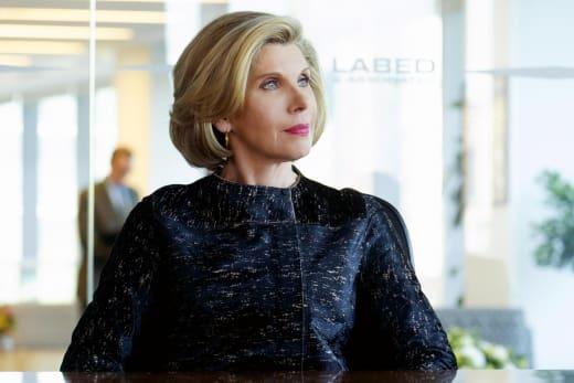 Diane looks radiant - The Good Fight Season 1 Episode 1