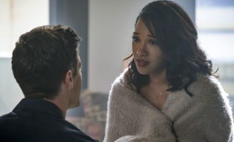 Concerned Fiancee - The Flash Season 4 Episode 3