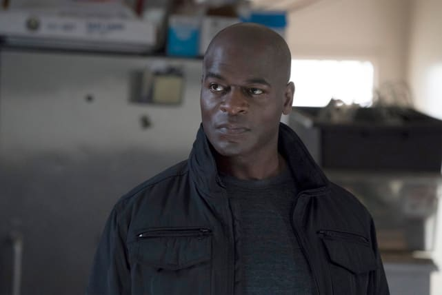 Frustrated Dembe - The Blacklist Season 5 Episode 17