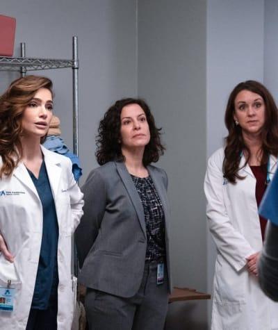 Sexist Pay - tall  - New Amsterdam Season 3 Episode 6