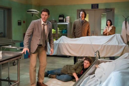 Dean Takes Part - Supernatural Season 14 Episode 4