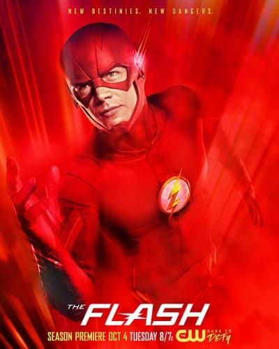 The Flash Season 3 Poster
