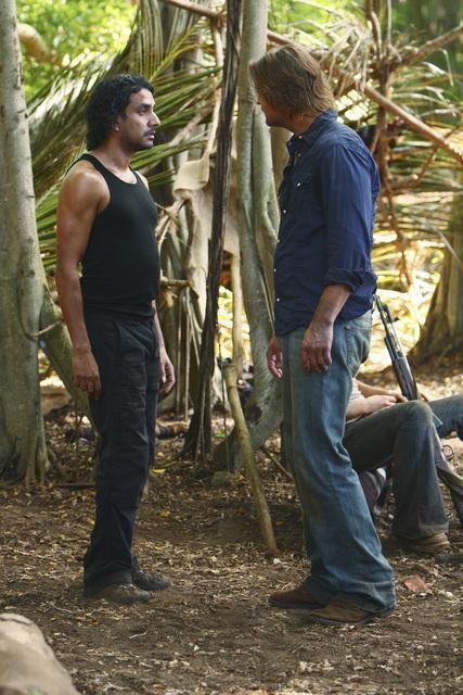 Sayid vs. Sawyer
