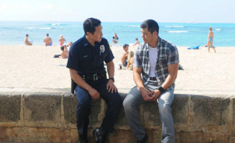Chin Ho and Gabriel Waincroft - Hawaii Five-0