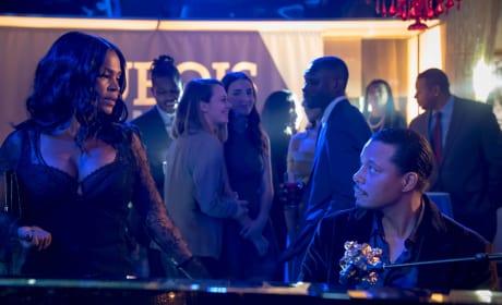 Giuliana comes face to face with Lucious - Empire Season 3 Episode 13
