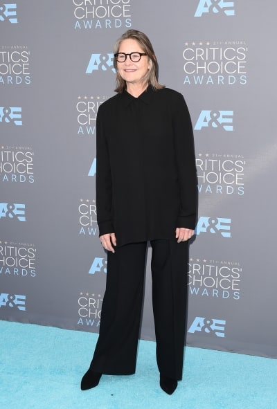 Cherry Jones Attends Critics' Choice Awards