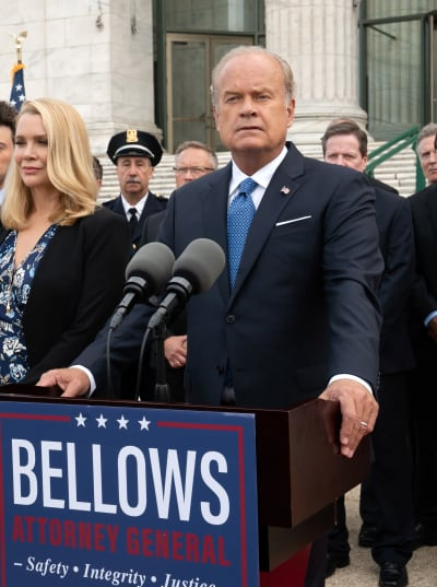 Bellows' Latest Press Conference - Proven Innocent Season 1 Episode 2